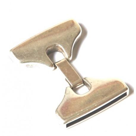 Fermoir clip pour cuir 30mm