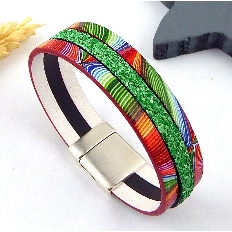 Kit bracelet arc en ciel