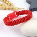 kit tutoriel bracelet paracorde rouge