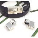 Fermoir magnetique haute qualite pour cuir 10mm
