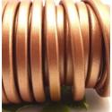 cuir oval regaliz cuivre metal