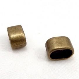 2 passe cuir bronze pour cuir regaliz