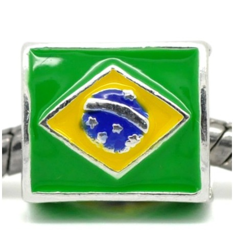 perle europeenne bresil football coupe pour cuir 3 a 5 mm