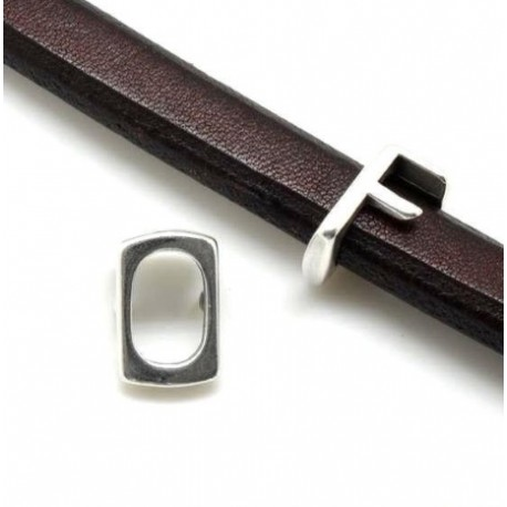 Passe cuir lettre D pour cuir regaliz