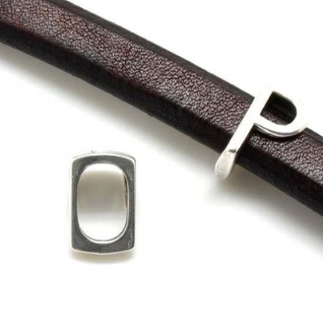 Passe cuir lettre P pour cuir regaliz