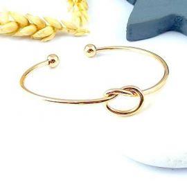 Support bracelet noeud d amour simple a personnaliser