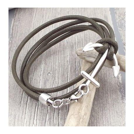 tuto fabrication bracelet cuir