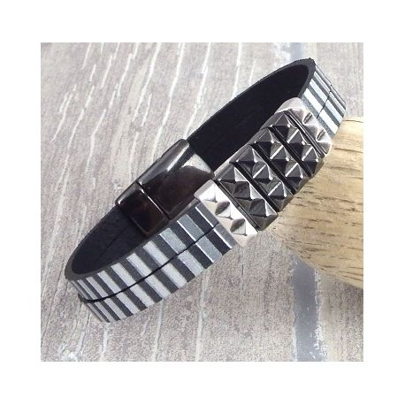 kit bracelet cuir homme