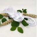 cordon queue de rat 2mm blanc