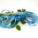 cordon queue de rat 2mm turquoise