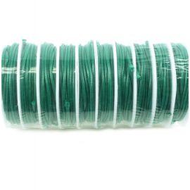 Cordon de fart enduit 2mm vert sapin par 3.5 metres