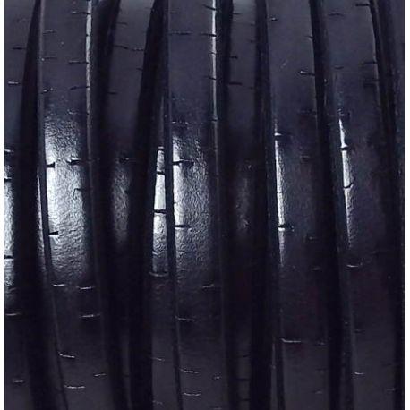 Cuir regaliz vintage noir