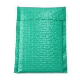 5 enveloppes bulles couleur vert ocean