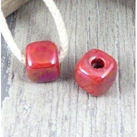 Perles en ceramique