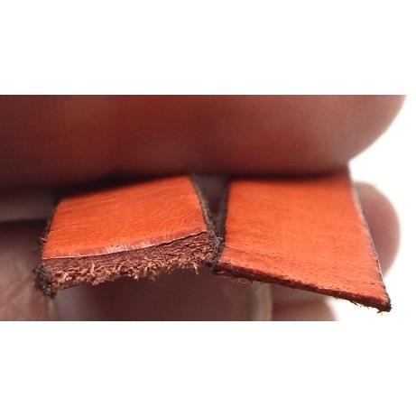 Resultat apres affinage du cuir