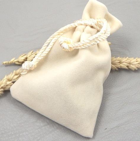Pochette tissu pour collier ou bracelet